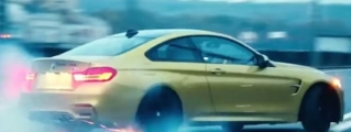 Only in Russia: BMW M4 Drifts Wildly on Public Roads