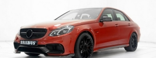 Brabus Mercedes E63 AMG 850 in Red