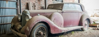Barn-Find Lagonda V12 Hooper Snapped Up Prior to Auction