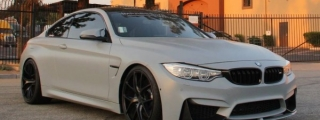Battleship Gray BMW M4 Is Fit for Bond's Baby