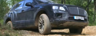 Teaser: Bentley Bentayga Testing Continues in Spain