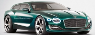 Build It Now: Bentley EXP 10 Shooting Brake