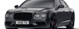 Official: Bentley Flying Spur V8 S Black Edition