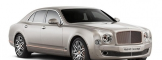 Bentley Hybrid Concept Revealed Ahead of Beijing Debut