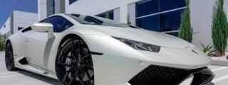 Bianco Canopus Lamborghini Huracan by Supreme Power