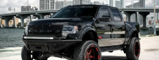 Jon Jones' Unique Roush Ford SVT Raptor