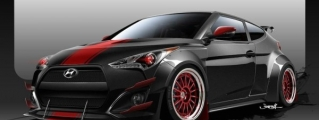 SEMA Preview: Blood Type Racing Veloster Turbo