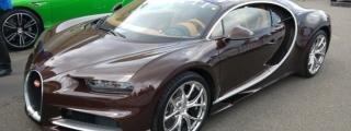 Brown Bugatti Chiron Sighted at the Nurburgring