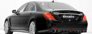 Sedan King: 850-hp Brabus Mercedes S-Class