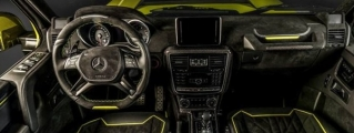 Brabus G500 4x4² Interior Package by Carlex Design