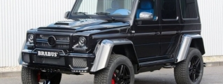 Brabus Mercedes G500 4x4 with Blue Interior