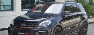 Brabus Mercedes ML63 AMG with 700 Horsepower