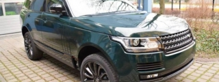 British Racing Green Range Rover from Print Tech