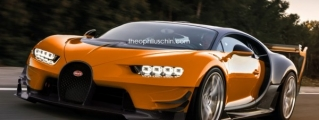 Bugatti Chiron SuperSport Speculatively Rendered