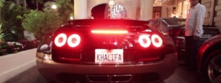 "Up Close with Bugatti Veyron Rembrandt ""Khalifa"