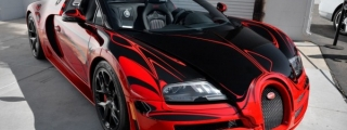 Sights and Sounds: Bugatti Veyron Vitesse L'Or Rouge