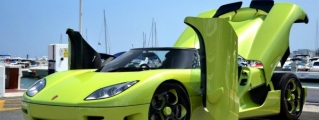 Lime Green Koenigsegg CCR Spotted in Marbella