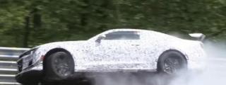 Camaro Z/28 Prototype Struggles at the Nurburgring