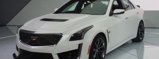 2016 Cadillac CTS-V Live at NAIAS