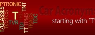 Car Acronyms T