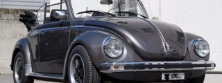 VW Beetle Convertible Restomod by Cartech