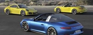 2016 Porsche 991 Carrera 4 and Targa 4 Unveiled