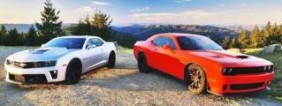 Shock Meets Awe: Challenger Hellcat v Camaro ZL1
