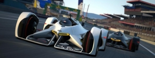 Chevrolet Chaparral Vision Gran Turismo in Action
