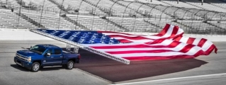 Chevrolet Sets Guinness World Record for Pulling a Flag