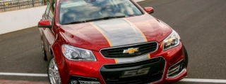 Chevrolet SS Pace Car Debuts at Indianapolis