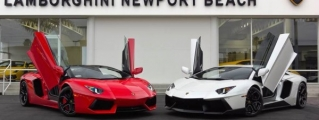 $15 Million Lamborghini Aventador Convoy Hits Newport Beach