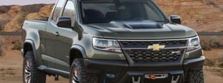 Chevrolet Colorado ZR2 Concept Revealed