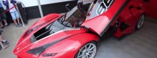 Ferrari Corse Clienti Warmup Ritual is Revgasmic!