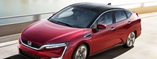 EPA Range Announced for Honda Clarity Fuel Cell