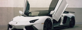 Gallery: Custom Aventador on ADV1 Wheels