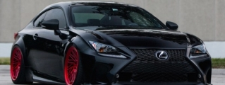 Eye Candy: Custom Lexus RC on Vossen Wheels