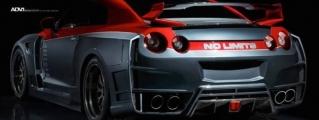 Custom Nissan GT-R on ADV1 Wheels
