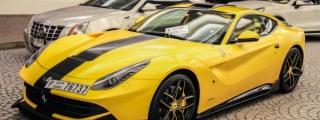 DMC Ferrari F12 SPIA Spotted at Dubai Mall