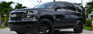 Murdered-Out Chevrolet Tahoe by MC Customs and DUB