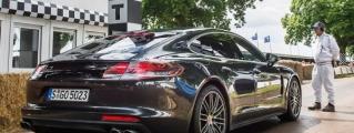 Patrick Dempsey Tests the 2017 Porsche Panamera at GFoS