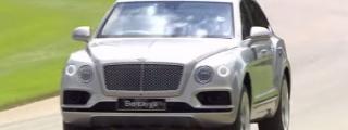 Watch Derek Bell Manhandle a Bentley Bentayga at Goodwood