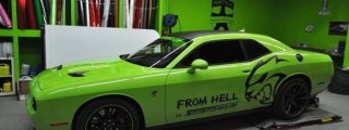 Print Tech Puts the 'Hell' in Dodge Challenger Hellcat