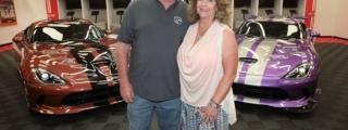 "Viper-Crazy Texan Couple Buy Two ""1 of 1"" Dodge Viper GTC"