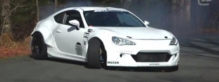 Driftgasm: Scion FR-S Climbs Burke Mountain Sideways!