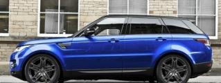 Kahn Range Rover Sport in Estoril Blue