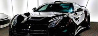 All-Black Novitec Ferrari F12 N-LARGO at Alain Class