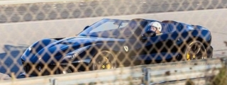 Black Ferrari F12 TRS Spotted on Test Track