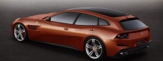 Rendering: Ferrari GTC4 Lusso 5-Door