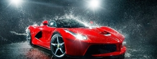 Photoshoot: Ferrari LaFerrari Gets All Wet!