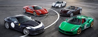 Ferrari Marks its 70th Anniversary with Special Liveries